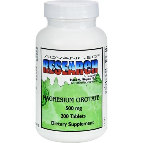 Nci Dr. Hans Nieper Magnesium Orotate - 500 Mg - 200 Tablets - 0527531