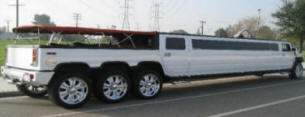 Canopy Top White Hummer Limo. Prom is coming up! LA Hummer Limos - Orange County Hummer Limos