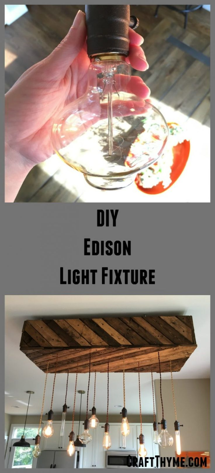 Check out this tutorial on how to create your own diy - Make your own light fixture ...