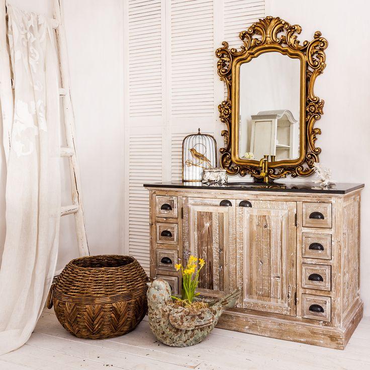 """Тумба с раковиной для ванной комнаты """"Лурмарин"""" - это не просто стилизация…"""