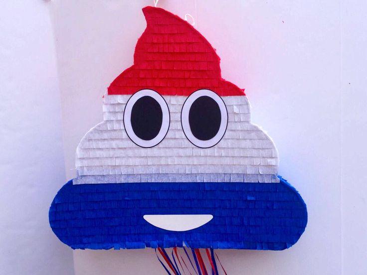 EMOJI PINATA de caca, caca Emoticon partido, partido de emoji de whatssap, tire de cadena Piñata patriótico emoji, colores de 4 de julio de TRUSTITI en Etsy https://www.etsy.com/es/listing/508860186/emoji-pinata-de-caca-caca-emoticon