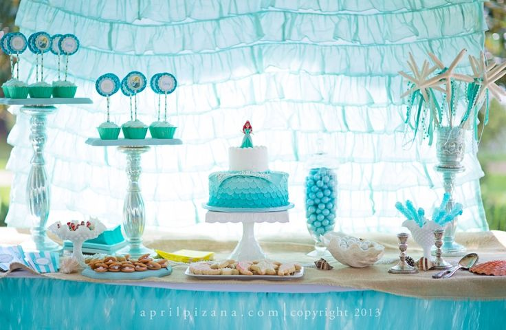 "I have died and went to heaven! ""Beyond the Sea"" Birthday Party. Photos (c) April Pizana."