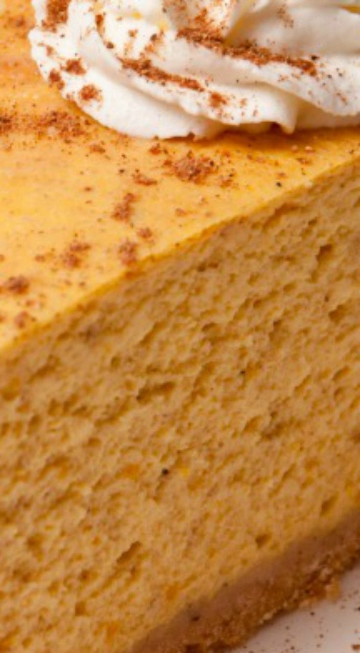 The Cheesecake Factory Pumpkin Cheesecake Copycat ~ You'll love this recipe