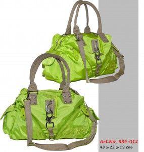 884-012 Handtasche in Rips ähnlichem Nylon (sehr strapazierfähig) in vielen verschiedenen Farben.  #Handtaschen #Bags #Mode #Fashion