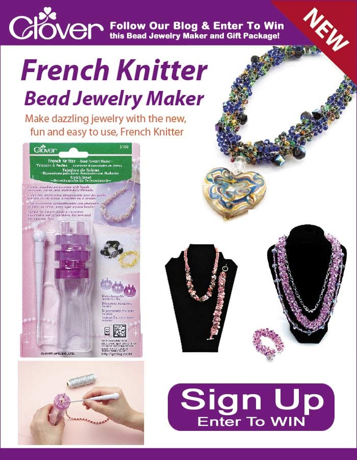 French knitting jewellery ♥