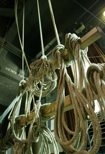 Corde nel backstage ||||| Ropes backstage