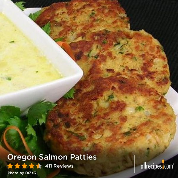 Oregon salmon patties excellent recipe for canned or for Fresh tuna fish recipes