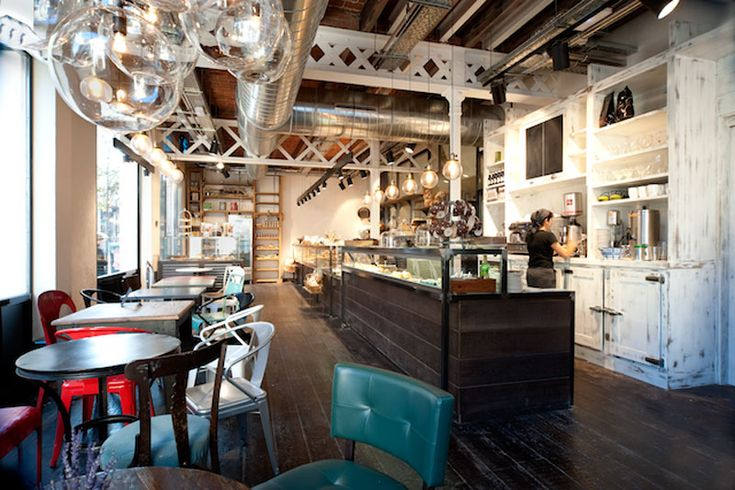 Funky bakery called serraj rdia located in the town of for Interior design firms near me