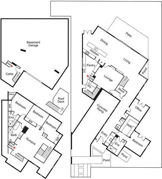 78 best plans images on pinterest small houses, modern houses North West Facing House Plans sensational breezy house idea stylish 5 manor street in brighton house interior floor plan displaying large basement garage and roof desk north west facing house plans