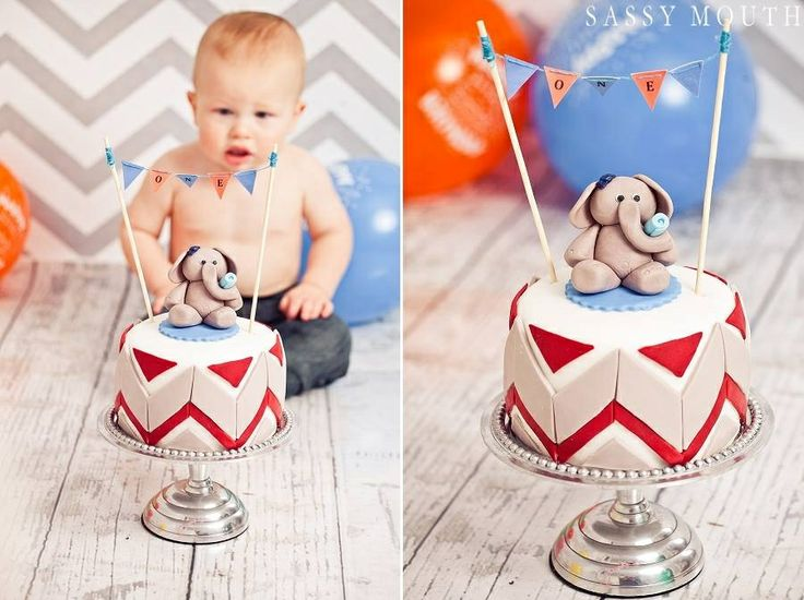 One year olds Birthday Smash Cake www.facebook.com/scbyamanda