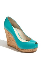 Turquoise wedge- ooh cute, wonder if I can find in purple?!