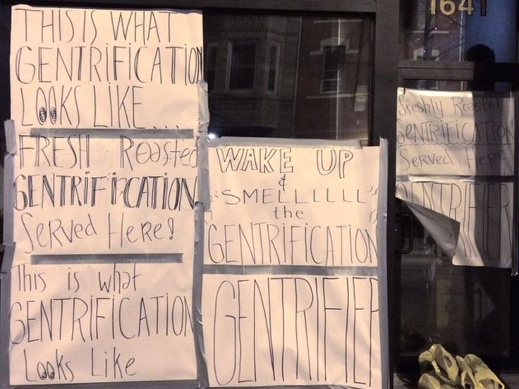 UPDATED: Bow Truss Pilsen's Windows Covered With Anti-Gentrification Signs