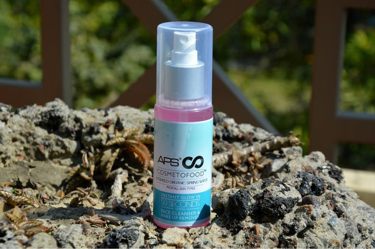 "Cosmetofood is a brand that makes products using the natural and organic techniques. Here is the review of their ""Organic Spring Water"""