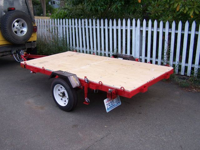 harbor freight folding trailer modification write up review utility. Black Bedroom Furniture Sets. Home Design Ideas