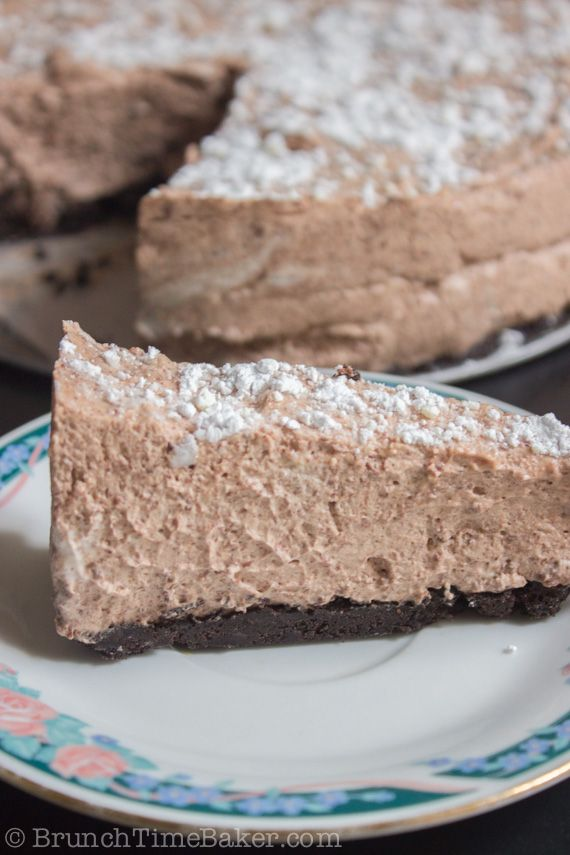 Cake Recipe Triple Mousse Choc