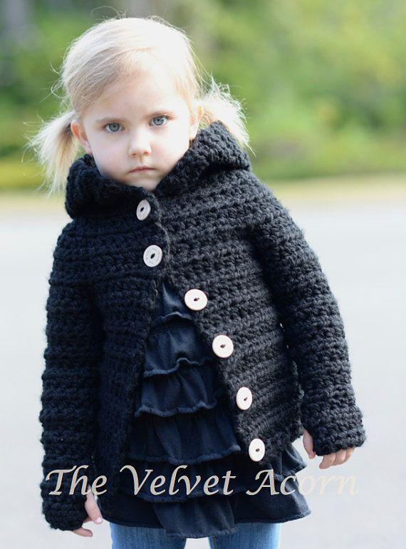 CROCHET PATTERN-The Becklyn Bear Sweater 2 3/4 by Thevelvetacorn
