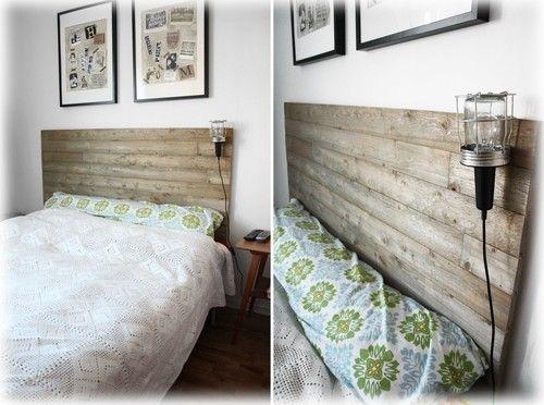 Byggt en sänggavel