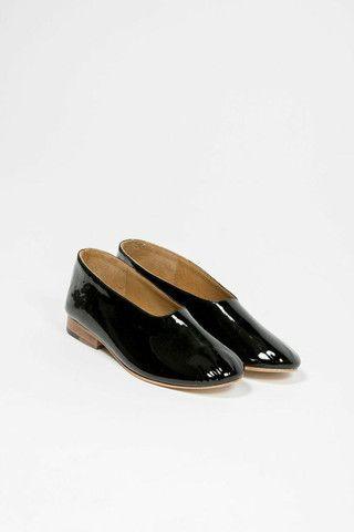 Patent Leather Glove Flats #martiniano #balletflat #patentleather