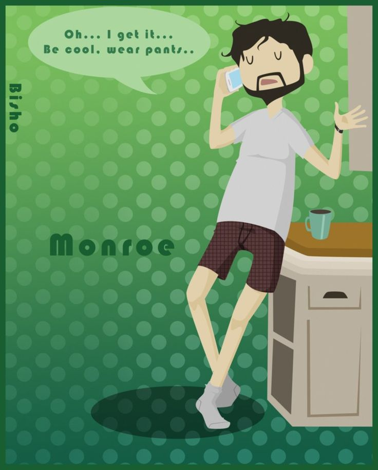 Grimm - Monroe - No pants by ~Bisho-s on deviantART