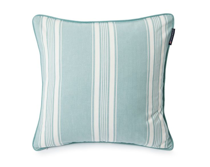 Lexington Cushion Ticking Striped 50 x 50 cm green