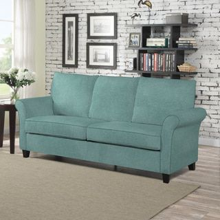 The Portfolio Home Furnishings Radford SoFast Sofa Features A A Rolled,  Welted Flair Arm That Can Be Assembled In Less Than 2 Minutes.