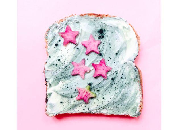 Innamorarsi in cucina: Mermaid Toast