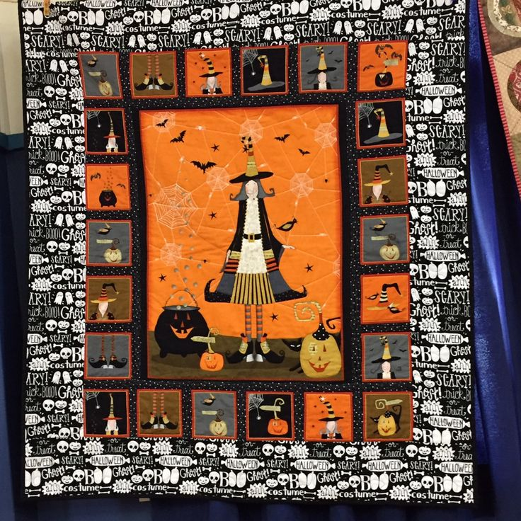 540 Best Halloween Quilts Images On Pinterest Halloween