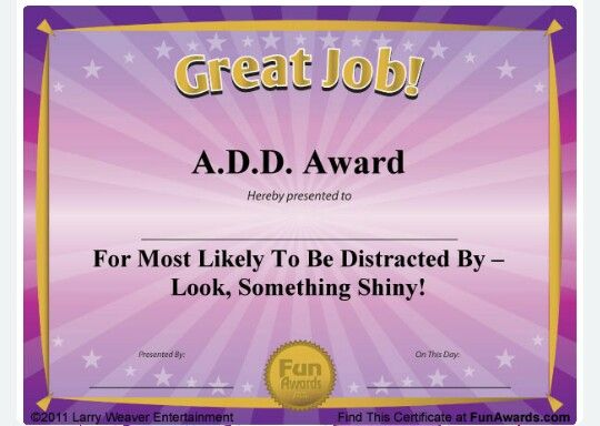 34 best fun awards images on pinterest employee awards for Funny certificates for employees templates