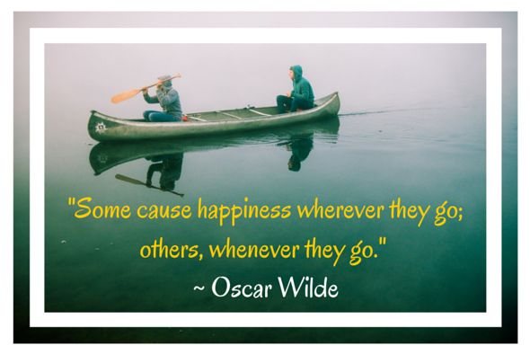 Happiness quote by Oscar Wilde