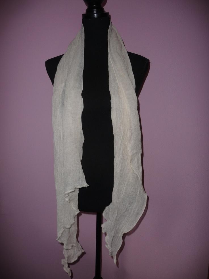 018 homemade scarf / zelfgemaakte sjaal
