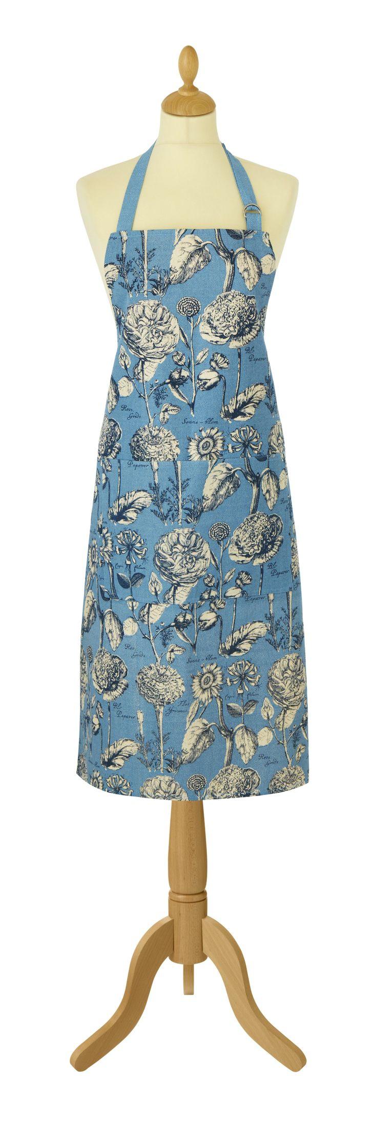 Blue apron engineering - Rhs Rosemoor Blue Apron Floral Blue Rhs