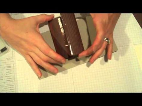 Pop Up Owl Card Tree Trunk Tutorial - YouTube