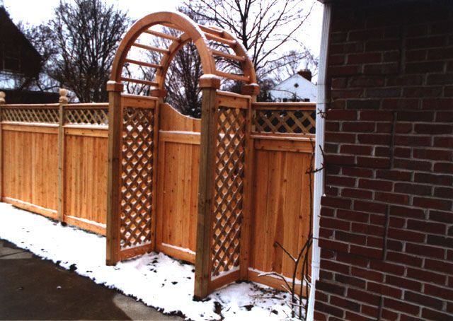 how to build 4 foot wood gate