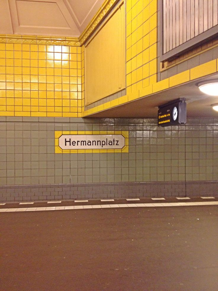 BERLIN - Neukölln, U-Bahnhof Hermannplatz