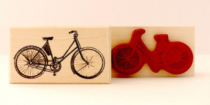 Stempel Fahrrad von frau zwerg auf DaWanda.com 7,-€