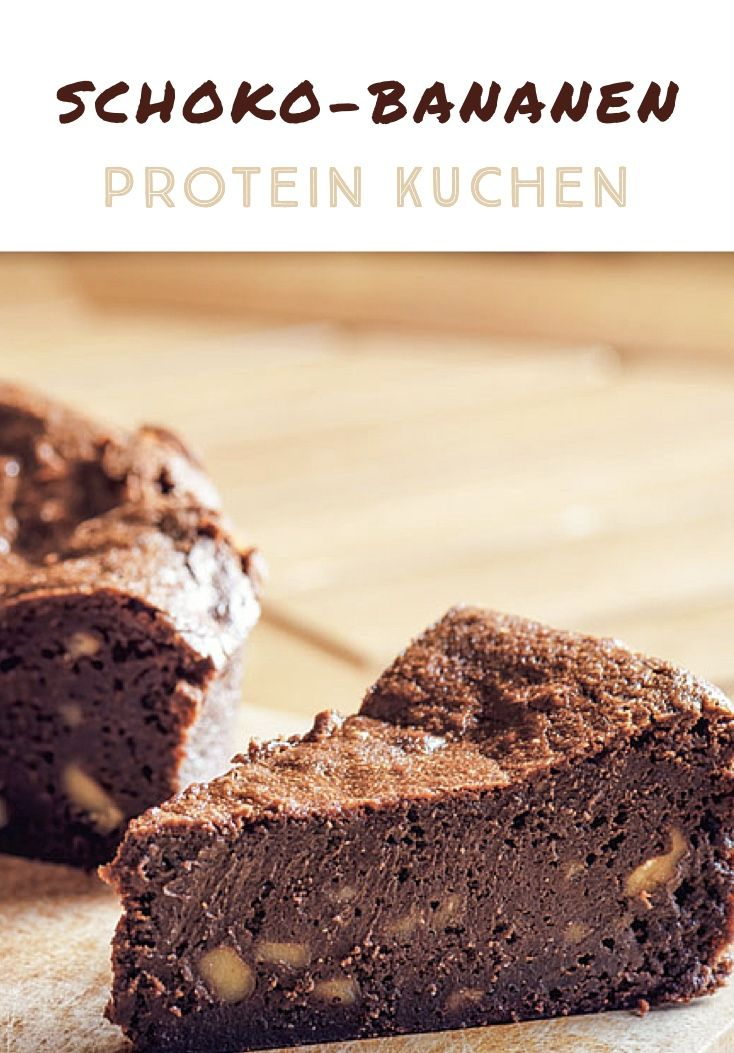 Schoko-Bananen Protein Kuchen ??