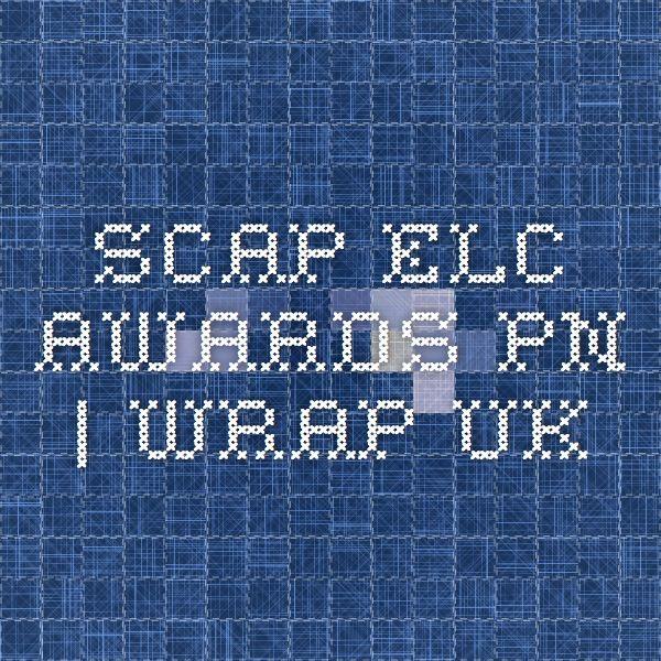 SCAP_ELC_Awards_PN | WRAP UK