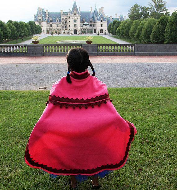 Princesse Anna Cape Congelés inspirée Anna Cloak par lilyprincess