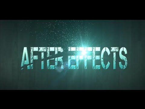 Tutorial Intro con Destello y Particulas en After Effects (HD)