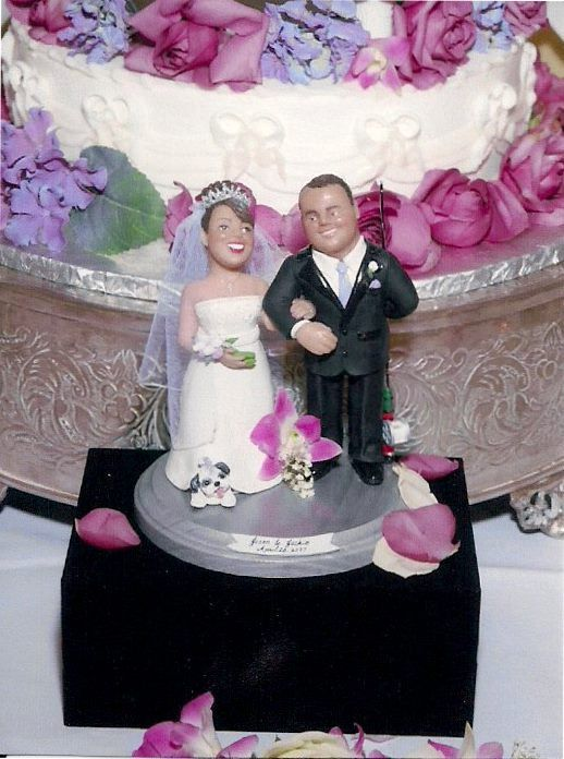 Custom Wedding Cake Topper In Your Likeness Features Are More Life Like And Detailed Contact Er For Details