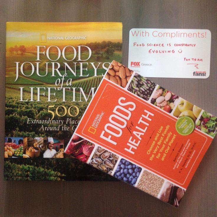 Το National Geographic Channel παρουσιάζει το μοναδικό αφιέρωμα «EAT: The Story Of Food». Εσείς πόσα γνωρίζετε για το φαγητό;   Πάρτε μέρος στο μεγάλο διαγωνισμό και κερδίστε προσκλήσεις για ένα μοναδικό event με θέμα την εκπομπή και 2 βιβλία της σειράς.   Link διαγωνισμού: www.facebοok.com/...! Συμμετοχή από tablet/κινητό: apps.facebook.com...   #Eat #StoryOfFood #NatGeoChannelGR