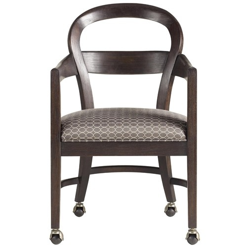 furniture baer 39 s furniture dining chair with casters miami ft