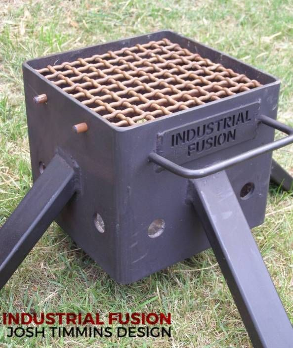 Outdoor Fireplace Welding Project : Best rocket stoves images on pinterest