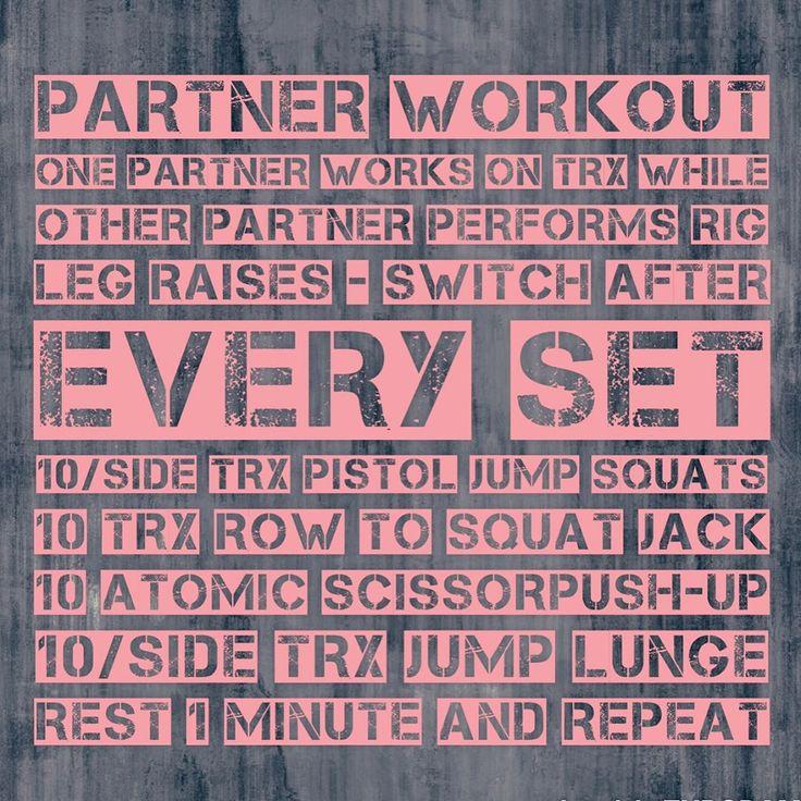 TRX Partner Workout