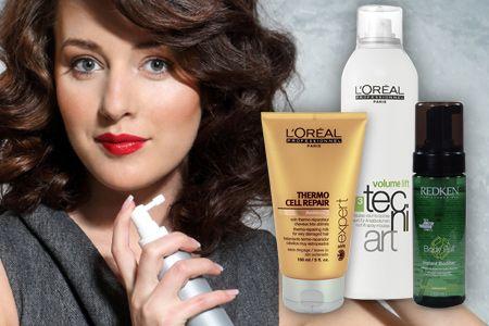 Os produtos profissionais para styling não sobrecarregam o cabelo, não o colam e contêm ingredientes hidratantes para um cabelo saudável e brilhante. Estes produtos facilitam o movimento natural do cabelo e proporcionam uma hidratação necessária, a maioria dos produtos contêm vitaminas e antioxidantes. Poderá optar pelas marcas de alta qualidade como: Goldwell, L´Oréal Professionnel, Matrix, Schwarzkopf Professional, Tigi entre outras. »» http://www.fapex.pt/styling/