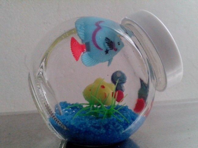 Brinde do aniversario do Gustavo...mimi aquário.