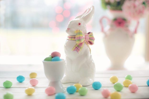 Good Friday and Easter History and Mantel Décor