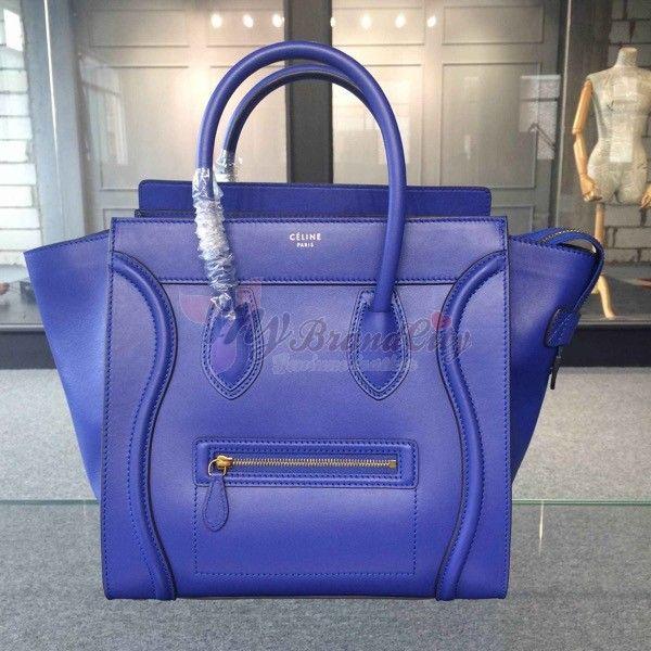 Celine Canvas Color Stripe Mini Luggage Tote Bag | Celine, Totes ...