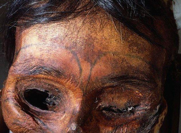 Celtic War Paint Patterns Ancient facial tattoos - i