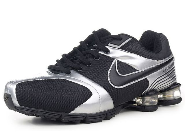 Chaussures Nike Shox R4 Noir/ Argent [nike_12270] - €49.97 : Nike Chaussure Pas Cher,Nike Blazer and Timerland  http://www.facebook.com/pages/Chaussures-nike-originaux/376807589058057  http://www.topchausmall.com/